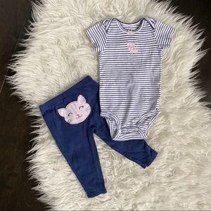 Carter's Matching Onesie & Pants Set